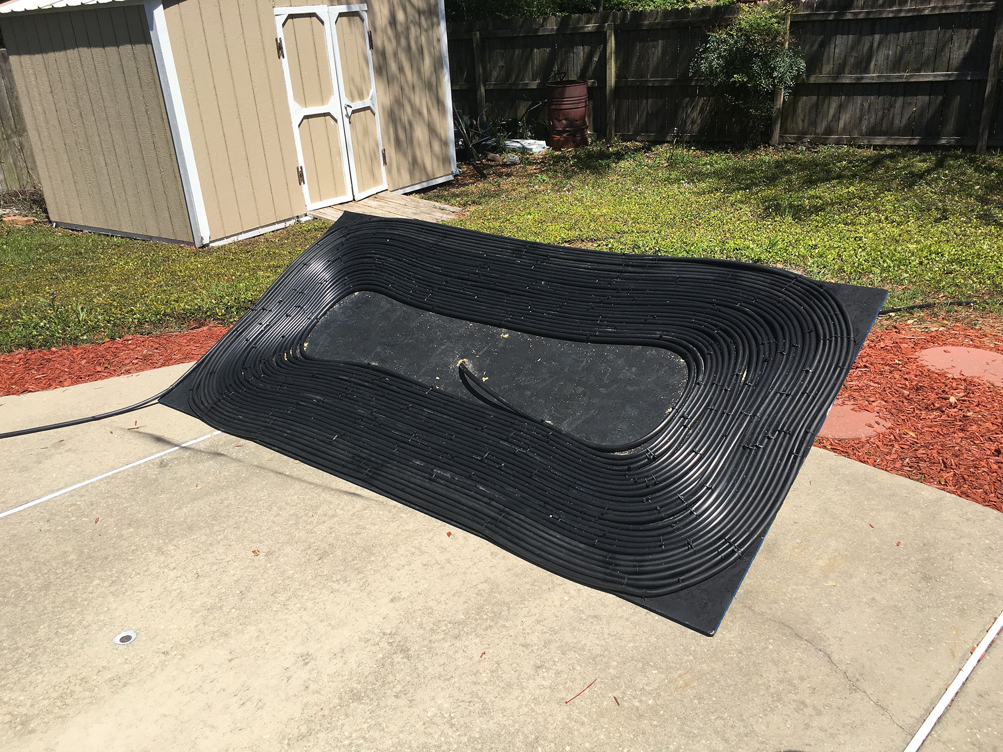 Tag: DIY Solar Pool Heater Black Hose | Half Ass Craftsman
