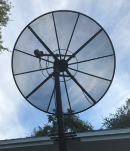 c-band, odom, 7.5 feet diameter
