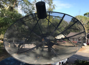 C-band Odom satellite dish