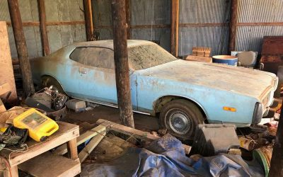1974 Dodge Charger Barn Find