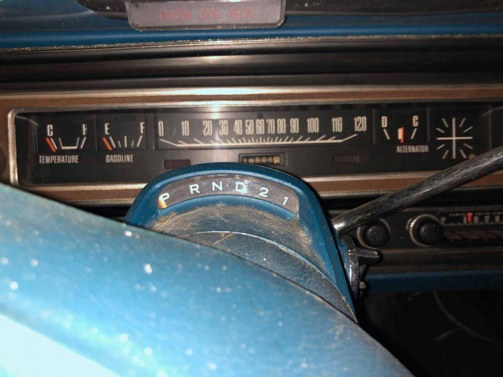 1974 Dodge Charger V8 Barn Find Dashboard Gauge Cluster