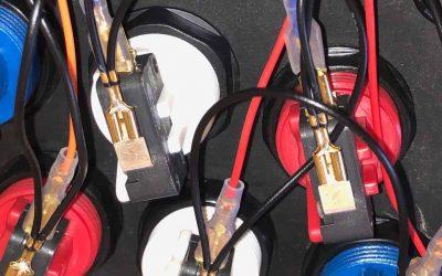 Retro Arcade Control Panel Build & Wiring