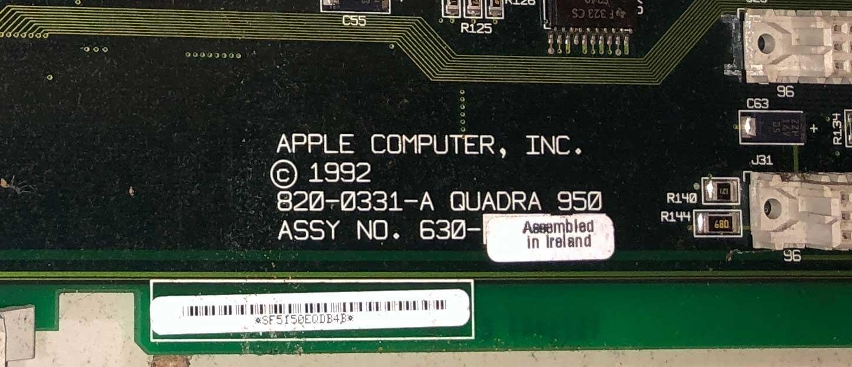 quadra 950 motherboard part number